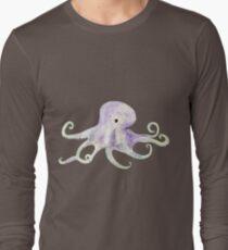 Ghostly Octopus, Spookseekat Long Sleeve T-Shirt
