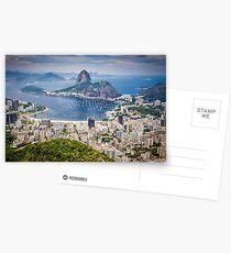 Rio de Janeiro aerial view Postcards