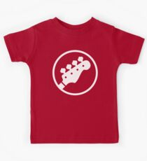 Headstock Rock - Bass Kids Tee