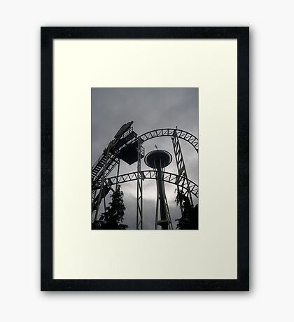needle 'n' thread Framed Print