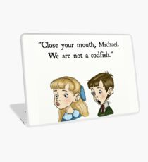 We Are Not A Codfish Laptop Skin