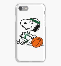 Snoopy basketball iPhone Case/Skin