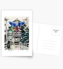 Spirited Away Postcards