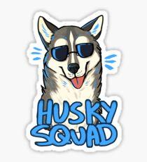 HUSKY SQUAD Sticker