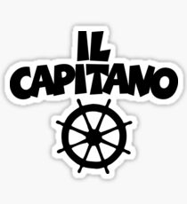 Il Capitano Wheel Sticker