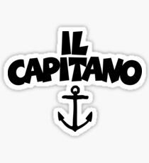 Il Capitano Sticker