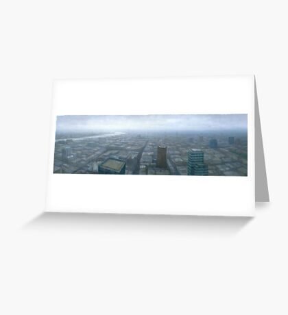 London Skyline Cityscape Greeting Card