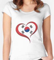 Heart Korea Women's Fitted Scoop T-Shirt