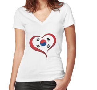 Shirt mit V-Ausschnitt