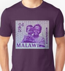 """1964 Malawi Mother & Child Stamp"" Unisex T-Shirt"