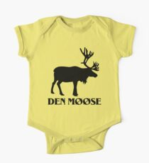 The moose from Scandinavia fun One Piece - Short Sleeve