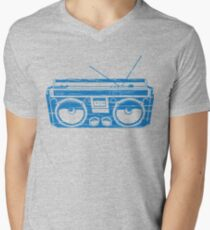 radio child of the eighties 1980 back to the future Mens V-Neck T-Shirt