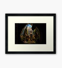 Holy Virgin Mary Grotto Framed Print
