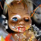 Evil Doll by WildestArt