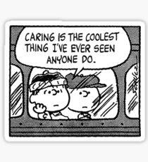 Peanuts Comic Sticker