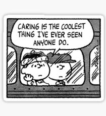 Pegatina Peanuts Comic