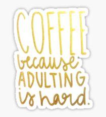Coffee... Sticker