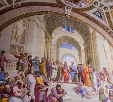 school of athens by indieyouth