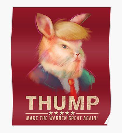Donald Thump Poster