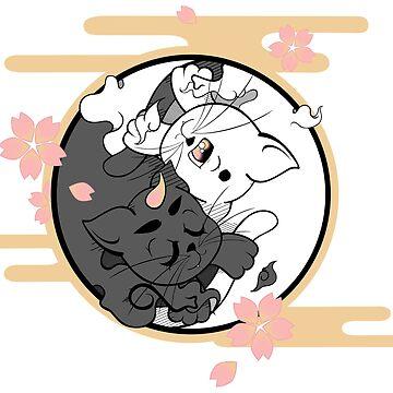 Zen Monster Kitties by YukariShinohara