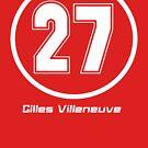 Gilles Villeneuve # 27 von HowMacGotFat