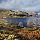 Haweswater and Kidsty Pike in the English Lake District by Martin Lawrence
