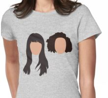 abbi & ilana Womens Fitted T-Shirt