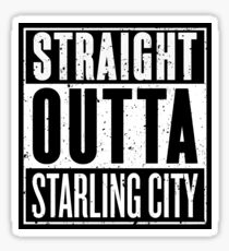 Straight Outta Starling City Sticker