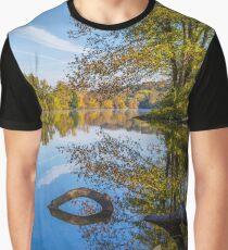 Peaceful Autumn Graphic T-Shirt