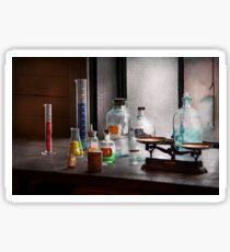 Science - Chemist - Chemistry Equipment  Sticker