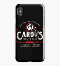 Carol's Flower Shop - Look At The Flowers! iPhone Case