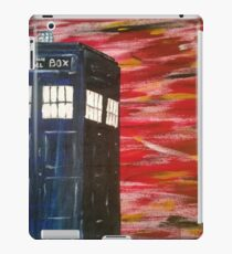 Dr. Who TARDIS iPad Case/Skin
