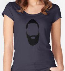 James Harden - Fear the Beard! Women's Fitted Scoop T-Shirt