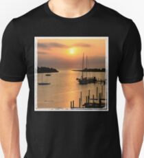 When the Sun Breaks Through ~ Gold Unisex T-Shirt