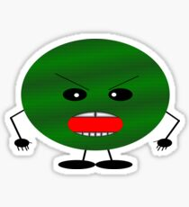 Angry Watermelon Sticker