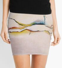 Landscape abstracted Mini Skirt