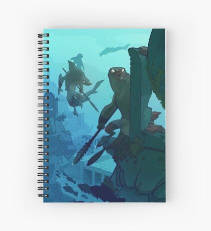 Sunken City Spiral Notebook