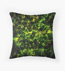 Cannabis Hemp Throw Pillow