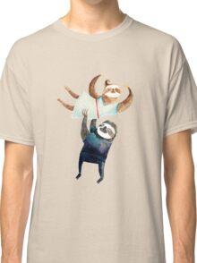 Slothy dancing - sloth couple Classic T-Shirt