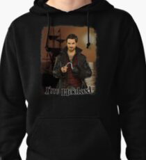 """Captain Hook """"I'm Hooked"""" Comic Design Pullover Hoodie"""