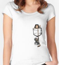 Dread Pocket Roberts Women's Fitted Scoop T-Shirt