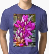 Floral Fantasy Tri-blend T-Shirt