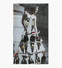 Bird Dress Photographic Print