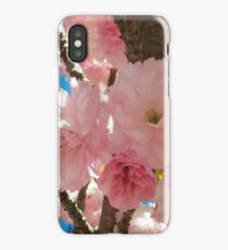 Bright Spring Cherry Blossoms iPhone Case/Skin