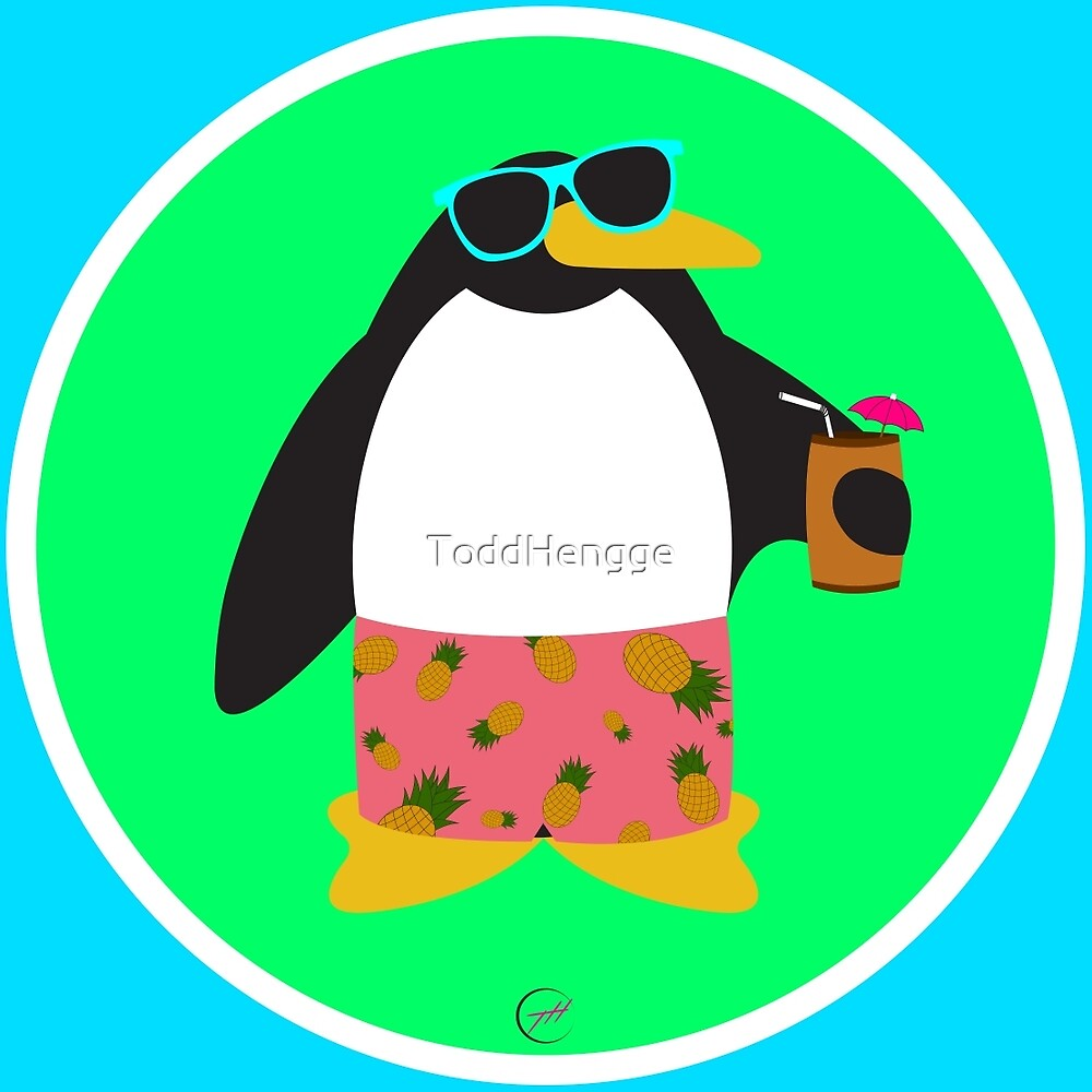 Party Penguin by ToddHengge