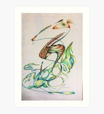 Sea Critters Art Print
