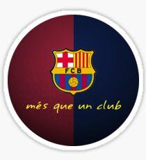 FCB Barcelona  Sticker