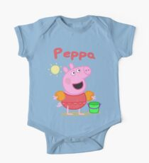 peppa 2 One Piece - Short Sleeve