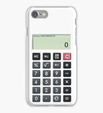 Calculator iPhone Case/Skin