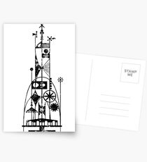 64/65 World's Fair - Tower of the Four Winds Postcards